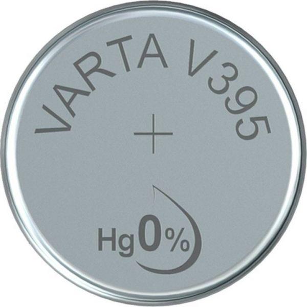 Silberoxid-Knopfzelle Typ SR57 / V395 von Varta